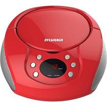 Grabadora Sylvania Boombox De Cd Portátil Con Radio W3