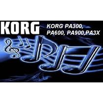 Korg Pa300, Pa600,pa900, Pa3x, Personaliza Imagen De Inicio