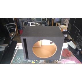 Cajon O Blafle Para Un Woofer 10 Pulgadas De Mdf 16mm