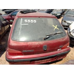 Vidro Vigia Tampa Traseira Peugeot 106 Com Frete Incluso