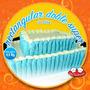Torta Rectangular Doble 60 Porc Aprox Infantiles Cumpleaños