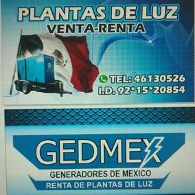 Generadores En Emergencia Plantas Electricas Renta
