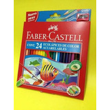 Lapices Acuarelables Faber Castell X 24
