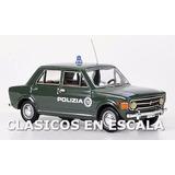 Fiat 128 Quattro Porte Polizia 1969 Made Italy - S Rio 1/43