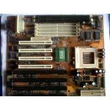 Pentium Uno Placa Tx-pro Ii Socket 7 Puertos Com1/com2/paral