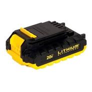 Bateria Stanley 20v Ion Litio Sb20c 1,3 Ah