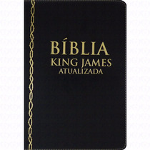 Biblia De Estudo Bkj Kings James+indice E Nome Gravado