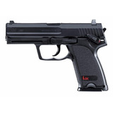 Pistola De Pressão Airgun Hk Usp Co2 Fullmetal 4.5mm