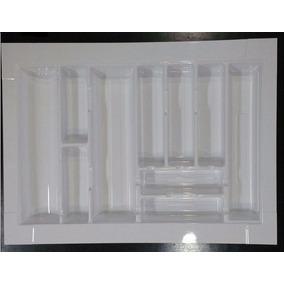 Cubiertero Organizador Plastico 70 X 51 - Cajon De Cocina