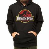 Blusa Moletom Jurassic Park Parque Dos Dinossauros Filme