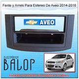 Frente Para Estereo De Aveo 2013, Arnes Y Adaptador Antena