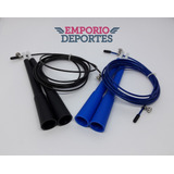 Soga Salto Crossfit Cable Acero Regulable Saltar Speed Rope