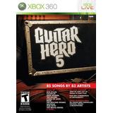 Guitar Hero 5 - Xbox 360 (sólo Juego)