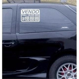 Sticker Se Vende 2 Avisos 20x15cms Listo Instalar Tu Carro