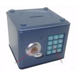 Mini Cofre Digital Eletrônico Aço C/ Chave - Pronta Entrega