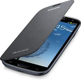 Capa Em Couro Flip Galaxy S3 S Iii Gt-i9300 Efc-1g6fgec