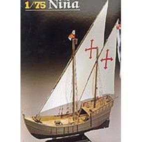La Niña Carabela Colon Heller Lodela 1/75 Modelo Nuevo