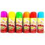 Lança Serpentina Colorida Em Spray 2 Unidades Alcançe 5m
