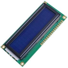 Modulo 1602 Display Lcd Hd44780 Azul/negro 16x2