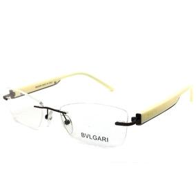 Armação Oculos Grau Importada Sem Aro Bv0123 Original
