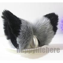 Gato Zorro Orejas Kitty Traje De Halloween Cosplay Disfraces