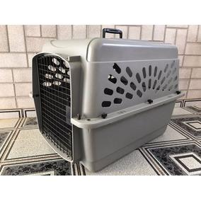 Kennel Caixa Transporte Avião Cão Cães Cachorro Porte Medio