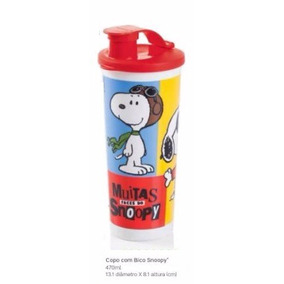 Tupperware - Copo Com Bico Snoopy 470ml