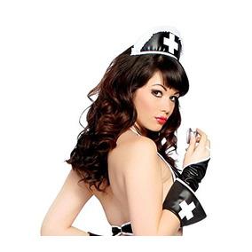 El Sombrero Negro Del Médico De La Enfermera De Las Mujeres