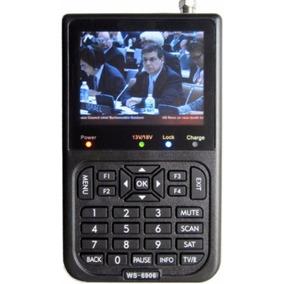 Localizador De Satélite Antena Ws6906 Digital Pronta Entreg
