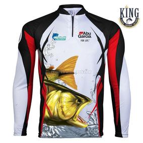 Camiseta Sublimada Pesca Staff Abu Garcia G - Grátis Breeze