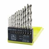 Brocas Hss (madeira, Ferro, Alumínio, Etc) Kit Com 13 Peças