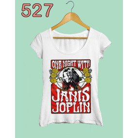 Camiseta Feminina One Night With Janis Joplin