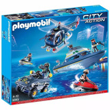 Playmobil City Police Tactical Unit Set 9043 Giro Didáctico