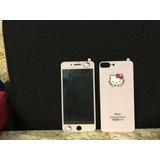 Vidrio Templado Mica Hello Kitty Iphone Iphone 5,6,7,8,plus