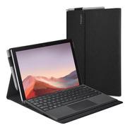 Funda Spigen Stand Folio Para Surface Pro7/ 6 Negro