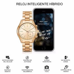 Reloj Smartwatch Hibrido Michael Kors Access Mkt4002 Dorado