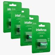 Kit 4 Baterias Não Recarregável Lítio 3v Cr123a Intelbras