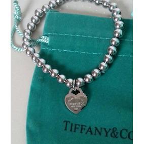 Pulseira Return To Tiffany & Co. Contas Aço Inoxidável