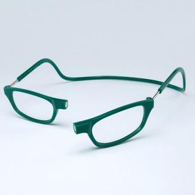400719eb5a7ee Armação Óculos Leitura Clikko Verde Oceano Com Imã-prático