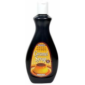 Jarabe De Caramelo De Flan. Botella De 22 Oz