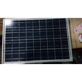 Panel Solar Con Regulador Marca Solartec 20 W