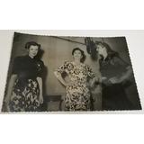 Lola Membrives Mecha Ortiz Radio Splendid Foto Original 1944