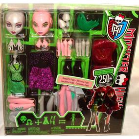 Juguetibox: Monster High Create A Monster Loba Y Dragon
