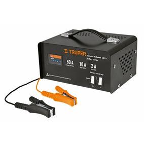 Cargador De Baterías Carga Rapida/lenta 50 A Truper 13027