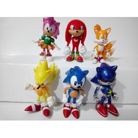 Set De 6 Figuras De Sonic Aprobecha!!!