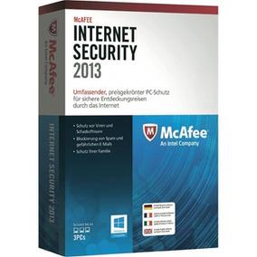 Antivirus Mcafee Internt Security 2013 Para 3 Computadores