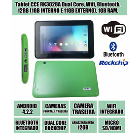 Tablet Cce Rk3028a Dual Core, Wifi, Bluetooth, 12gb, 1gb Ram