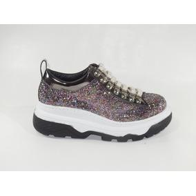 Zapatillas Mujer Sneakers Balenciaga Gliter