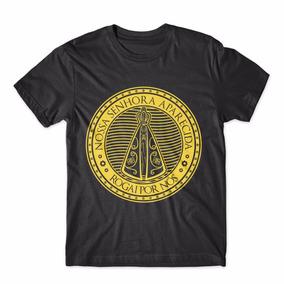 Camisa Camiseta Cristã Nossa Senhora Aparecida Rogai Por Nós