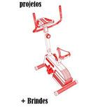 Bicicleta Ergométrica Spinning Horizontal Projetos + Brinde